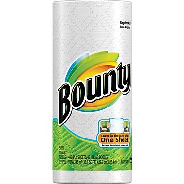 Bounty®  Paper Towel Rolls, 2-Ply, 30 Rolls/Case