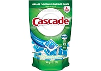 Cascade® 2-in-1 Action Pacs® Automatic Dishwasher Detergent, Original Scent, 20/Pack