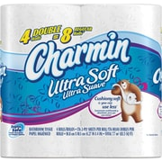 Charmin® Ultra Soft Bathroom Tissue Rolls, 2-Ply, 40 Rolls/Case