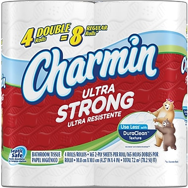 Charmin® Ultra Strong Bath Tissue Rolls, 2-Ply, 40 Rolls/Case