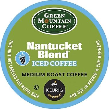 Keurig® K-Cup® Green Mountain® Nantucket Blend Iced Coffee, Regular, 22/Pack