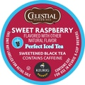 Keurig® K-Cup® Celestial Seasonings® Sweet Raspberry Perfect Iced Tea, Regular, 24 Pack