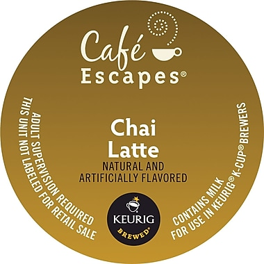 Keurig® K-Cup® Cafe Escapes® Chai Latte, 24 Pack