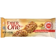 Fiber One Chewy Bars, Oats & Peanut Butter, 1.4 oz., 16 Bars/Box