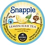 Keurig K-Cup Snapple Iced Tea, Lemon, 16/pack
