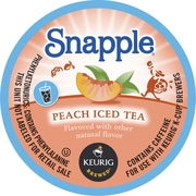 Keurig® K-Cup® Snapple® Iced Tea, Peach, 16/Pack