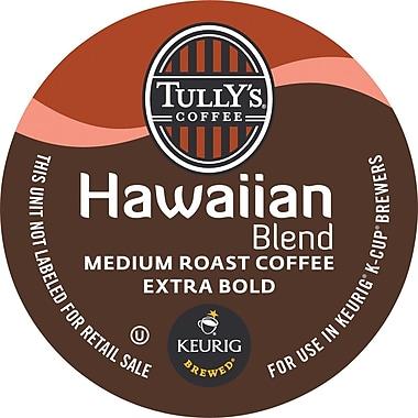 Keurig® K-Cup® Tully's® Hawaiian Blend Coffee, Regular, 18 Pack