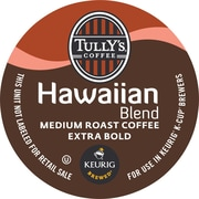 Keurig® K-Cup® Tully's® Hawaiian Blend Coffee, Regular, 18 Pack