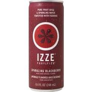 Izze® Blackberry Sparkling Juice, 8.4 oz. Cans, 24/Case