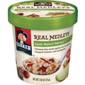 Quaker Real Medleys Oatmeal +, Apple Walnut, 2.64 oz., 12 Cups/Case