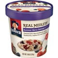 Quaker Real Medleys Oatmeal +, 12 Cups/Case