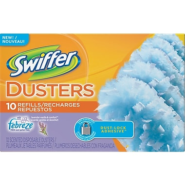 Swiffer Lavender and Vanilla Febreze Comfort Dusters Refills, 10 Cloths/Box