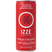 Izze® Pomegranate Sparkling Juice, 8.4 oz., 24 Cans/Case