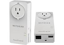 NETGEAR Powerline 200Mbps 2-Port PassThru Adapter Starter Kit XAUB2511