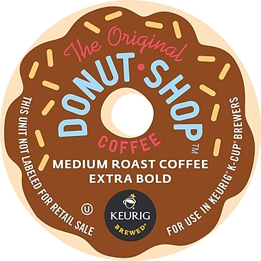 Keurig K-Cup Coffee People Original Donut Shop Coffee, Regular, 24/Pack
