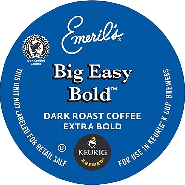 Keurig® K-Cup® Emeril's® Big Easy Bold Blend Coffee, Regular, 24/Pack