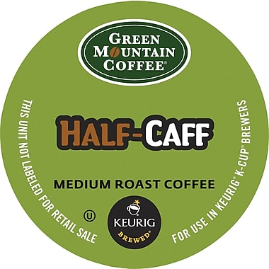 Keurig® K-Cup® Green Mountain® Half-Caff Coffee , 24/Pack