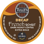 Keurig® K-Cup® Tully's® French Roast Coffee, Decaf, 18 Pack