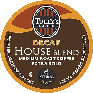 Keurig® K-Cup® Tully's® House Blend Decaf Coffee,Decaffeinated  , 24/Pack