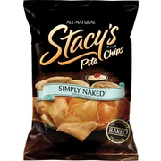 Stacy's® Simply Naked® Pita Chips, 1.5 oz. Bags, 24 Bags/Case