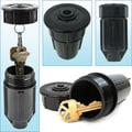 Trademark Tools™ Discrete Sprinkler Head - Hide a Key, 2in. L x 2in. W x 3 3/4in. H