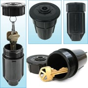 "Discrete Sprinkler Head - Hide a Key, 2"" L x 2"" W x 3 3/4"" H"