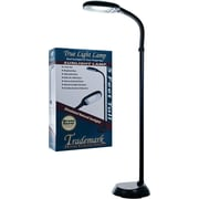 Trademark Home™ Deluxe Sunlight Floor Lamp, Black