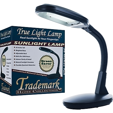 Trademark Home Deluxe Sunlight Desk Lamp, Black