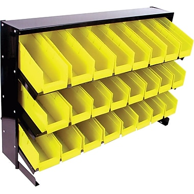 Trademark Tools™ 24 Bin Parts Storage Rack Tray, 32 1/8in. L x 11 5/8in. W