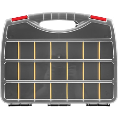 Trademark Tools™ Parts Organizer Box, 2 1/4in. L x 15in. W x 12in. H