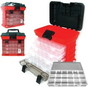 "Trademark Tools™ 73 Compartment Storage Tool Box, 7 1/8"" x 11"" x 10 1/4"""