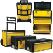 Trademark Tools™ 3-in-1 Oversized Portable Tool Chest, 28 x 19 1/2 x 11 1/2