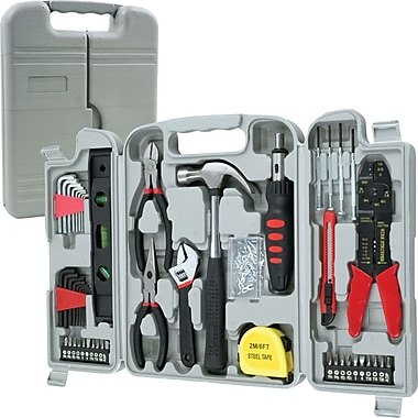 Trademark Tools™ 130 Piece Hand Tool Set, 2in. L x 9in. W x 11in. H