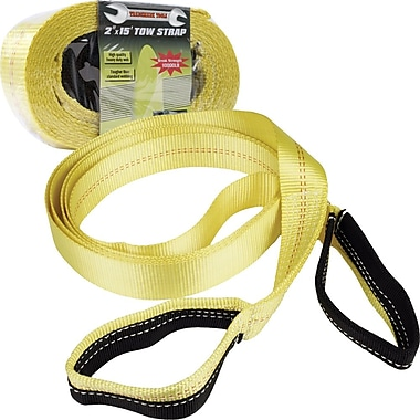 Trademark Tools™ Heavy Duty Nylon Tow Strap, 15 ft L x 2in. W