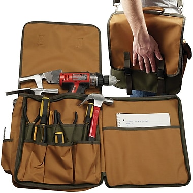 Trademark Tools™ Rugged Tool Tote, 13in. L x 5 1/2in. W x 14in. H