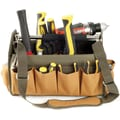 Trademark Tools™ Rugged 14 Pocket Tool Bag, 15 1/2in. x 7 1/2in. x 10in.