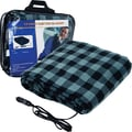 Trademark™ Plaid Electric Blanket for Automobile, 43in. x 59in.