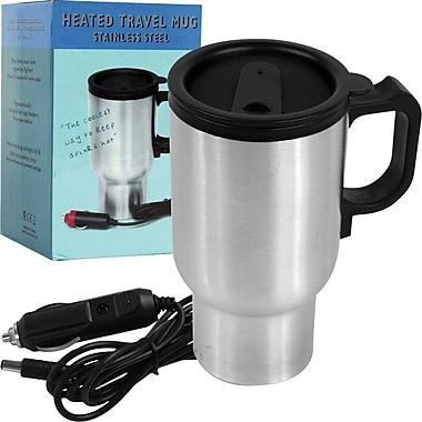Joe Traveller™ Heated Stainless Steel Travel Mug, 3 3/8in. x 5in. x 6 3/8in.