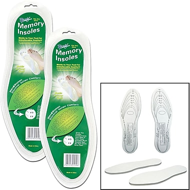Remedy™ Memory Foam Insole, 14in. L x 5in. W, 2 Set