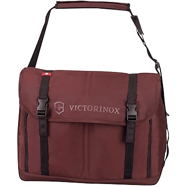 Victorinox Seefeld™ Weekender Travel Bag, Maroon, 19in. H x 11 1/2in. W x 8 1/2in. D