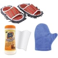 Trademark Global Dust Mop Slipper, Micro-fiber Dusting Mitt and Furniture Wipe, 9in. x 5in. x 2 1/2in.