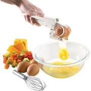 "EZ Cracker™ Egg Cracker and Separator, 1 3/4"" x 3 7/8"" x 8 1/2"""