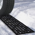 Trademark Tools™ Car Tire Snow Grabber Mat, 5/7in. H x 5 5/7in. W x 21 6/7in. D, 2/Pack