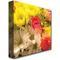 Trademark Global Amy Vangsgard in.Spring Bouquetin. Canvas Art, 18in. x 18in.