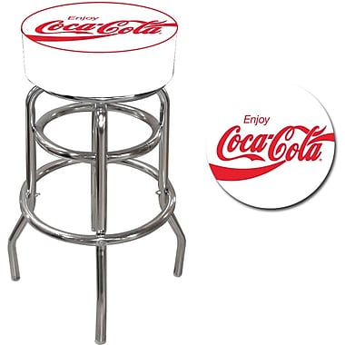 Coca-Cola Global Enjoy Coke Pub Stool, 15in. L x 15in. W x 30in. H