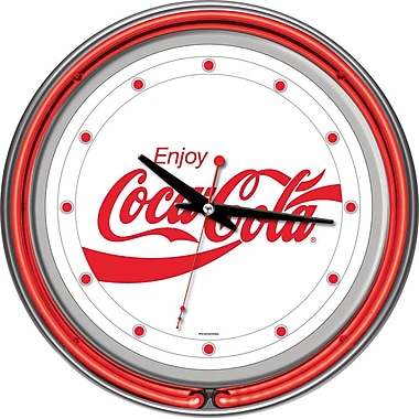 Coca-Cola Enjoy Coke Neon Clock, 3
