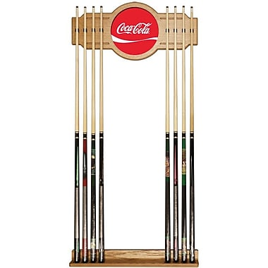 Coca-Cola Coke Cue Rack, Oak Veneered Wood