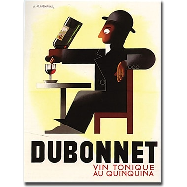 Trademark Global A.M. Cassandre in.Dubonnetin. Canvas Art, 18in. x 24in.