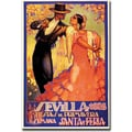 Trademark Global in.Sevilla Fiestas de Primaverain. Gallery Wrapped Canvas Art, 35in. x 47in.