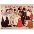 Trademark Global in.Affiches Charles Verneauin. Canvas Art, 35in. x 47in.